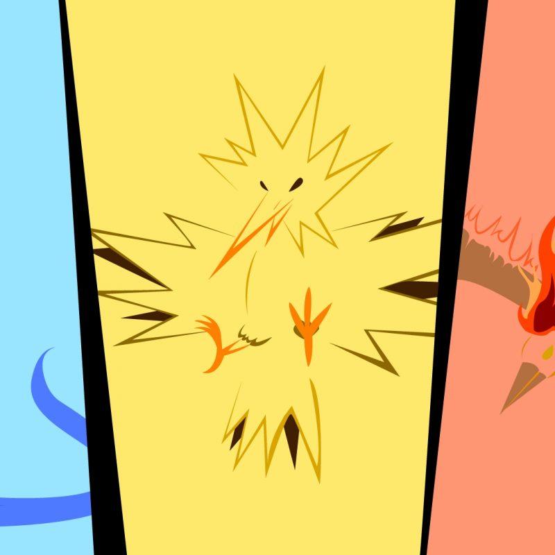 10 Most Popular Legendary Birds Pokemon Wallpaper FULL HD 1920×1080 For PC Background 2020 free download oc minimalist pokemon wallpaper the legendary birds imgur 800x800