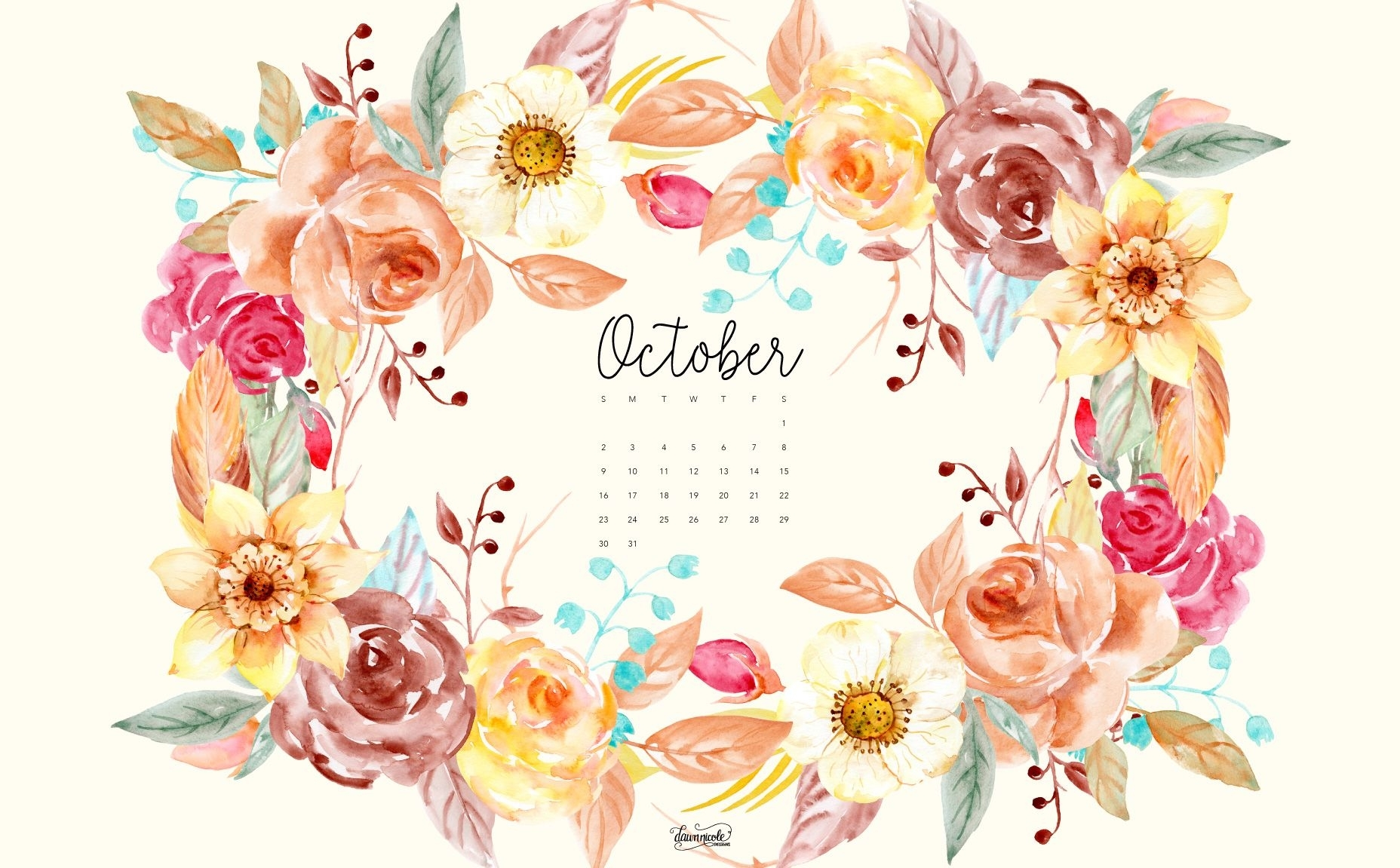october 2016 calendar + tech pretties | wallpaper, computer
