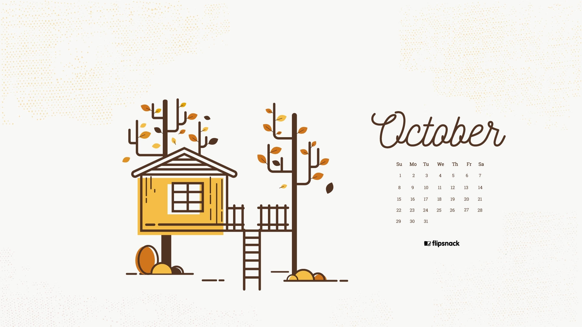 october 2017 calendar wallpaper for desktop background