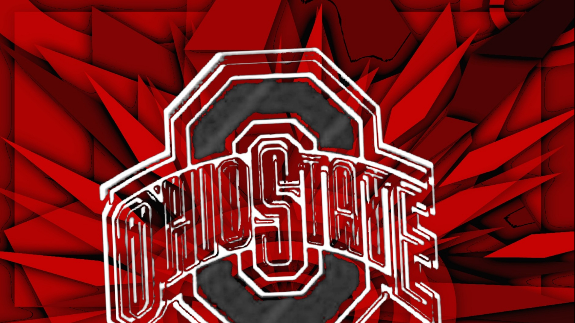 ohio state buckeyes images ohio state gray block o hd wallpaper and