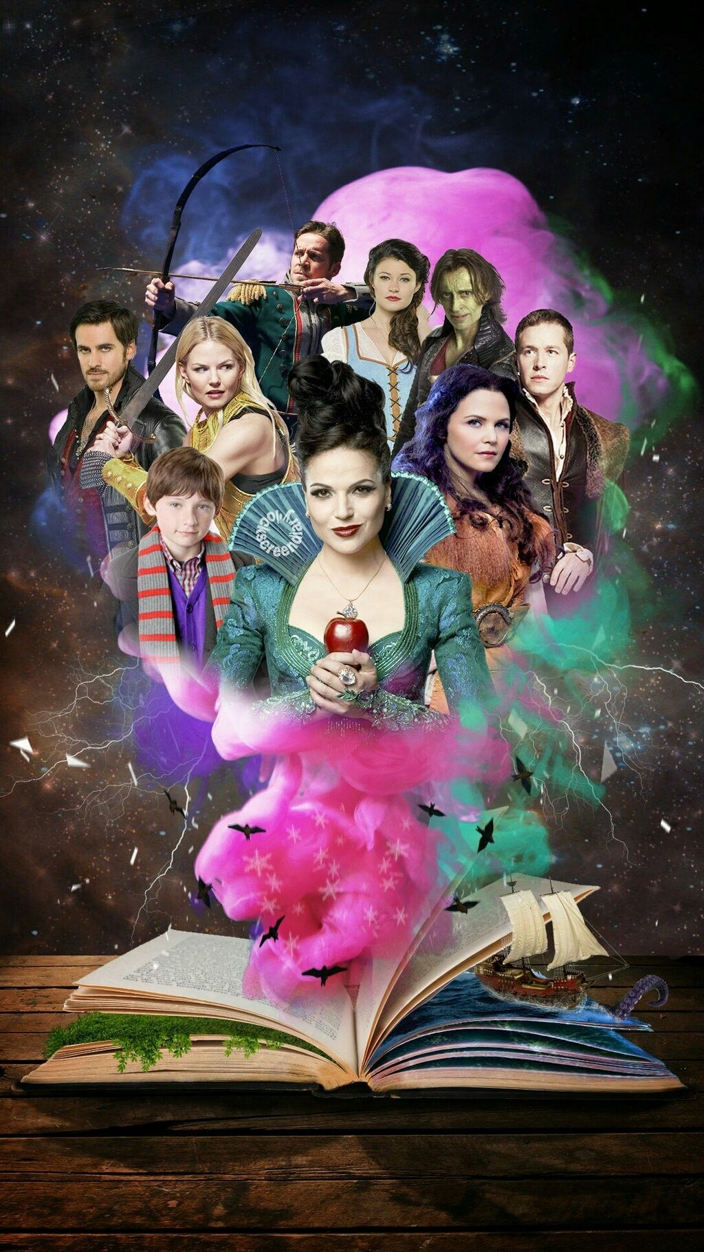 once upon a time | ouat | pinterest | ouat, wallpaper and tvs