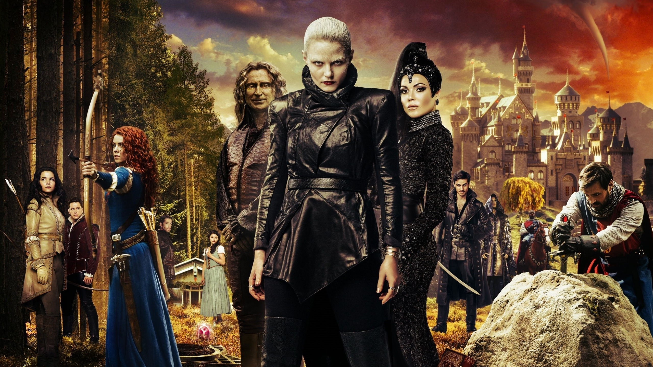 10 Latest Once Upon A Time Season 5 Wallpaper FULL HD 1080p For PC Desktop