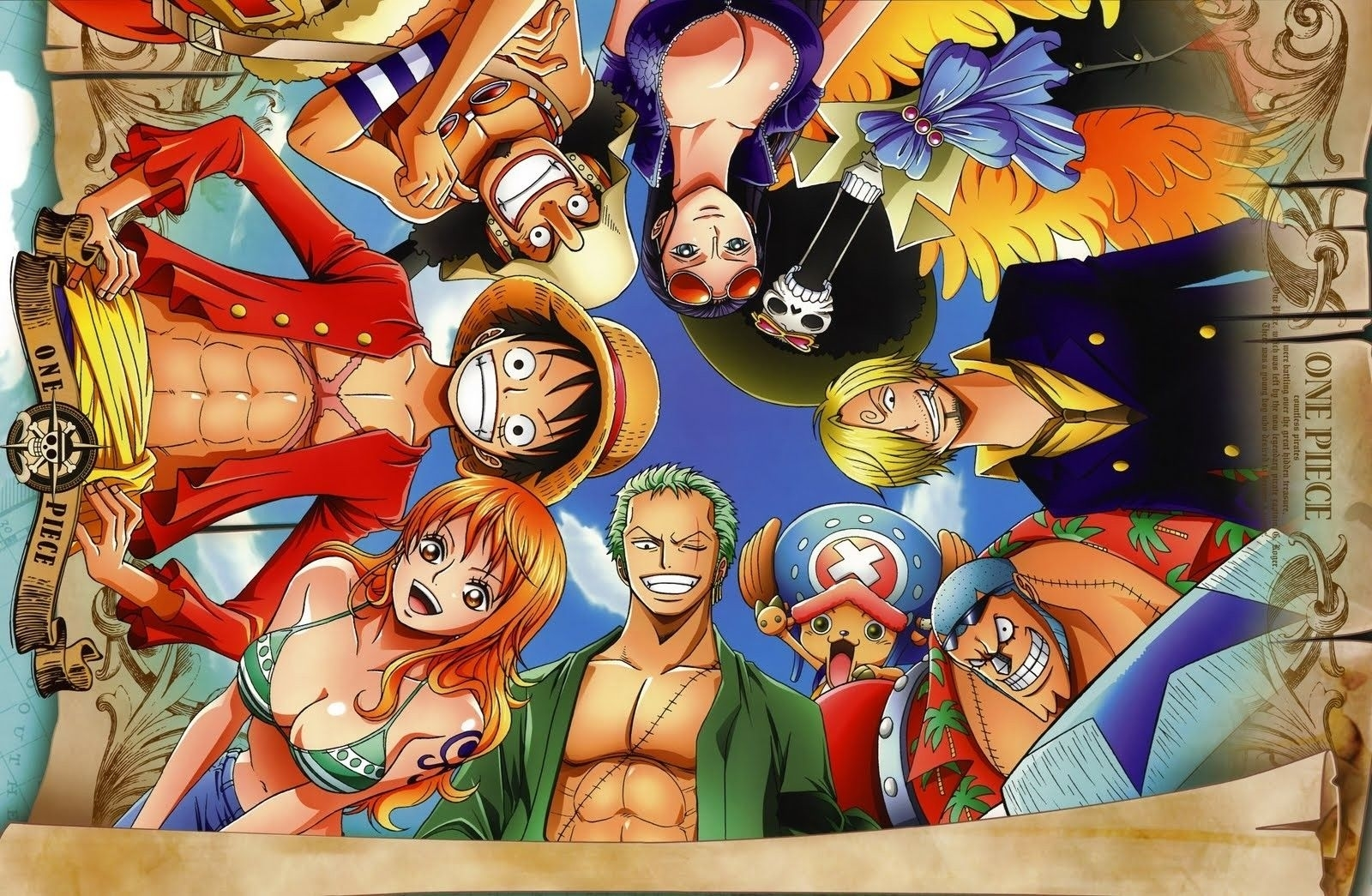 one piece crew after 2 years hd wallpaper | anime | pinterest | hd