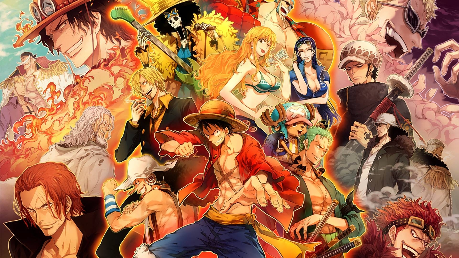10 Best One Piece New World Wallpaper FULL HD 1920×1080 For PC Desktop