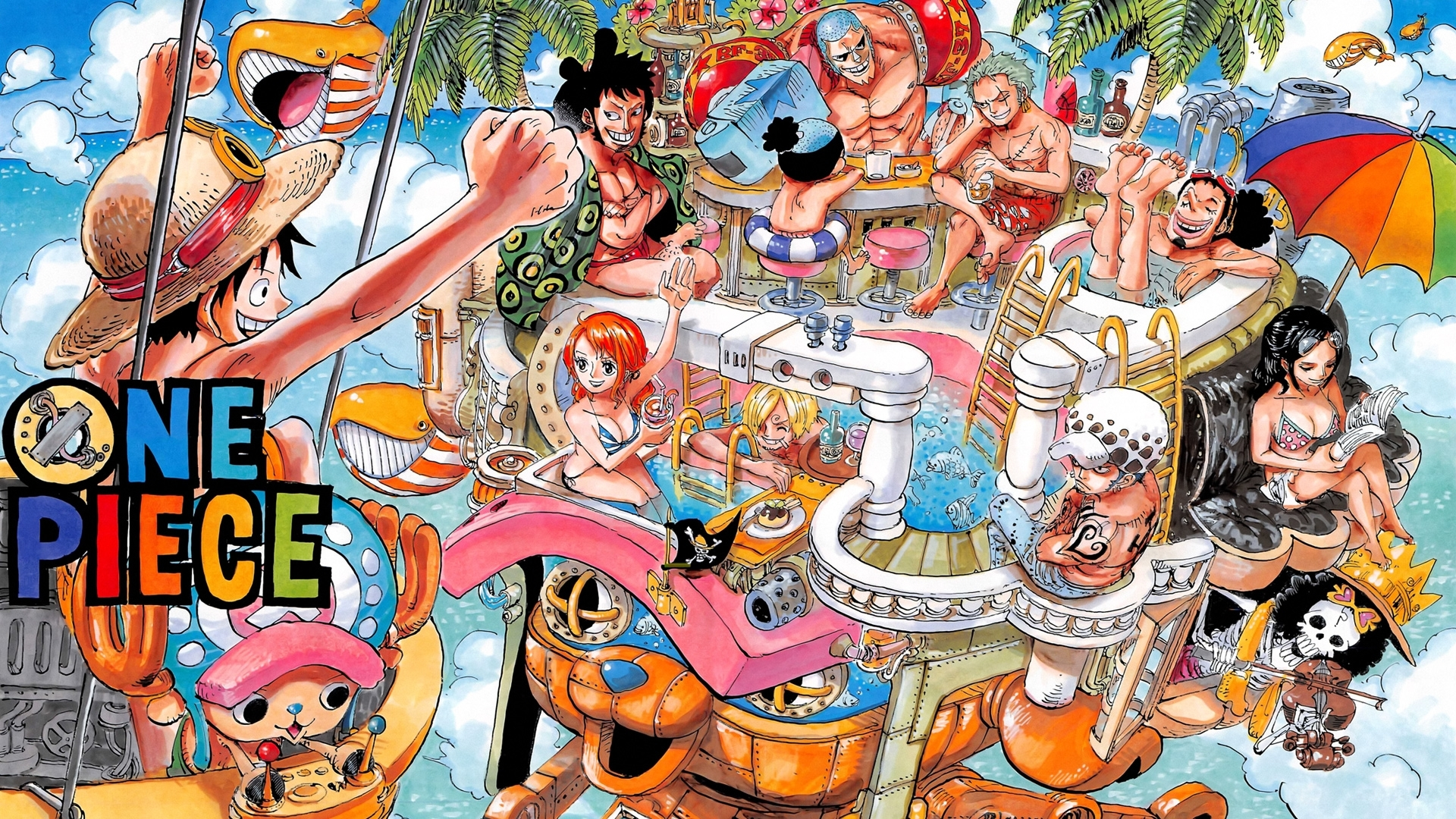 one piece two years later wallpaper | 1920x1080 | 132440 | wallpaperup