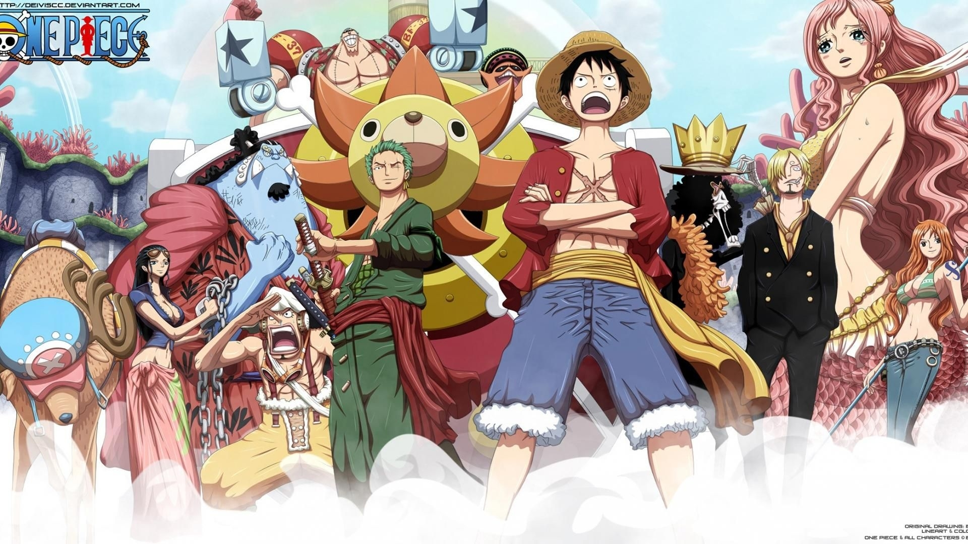 one piece wallpaper after 2 years | places to visit | pinterest