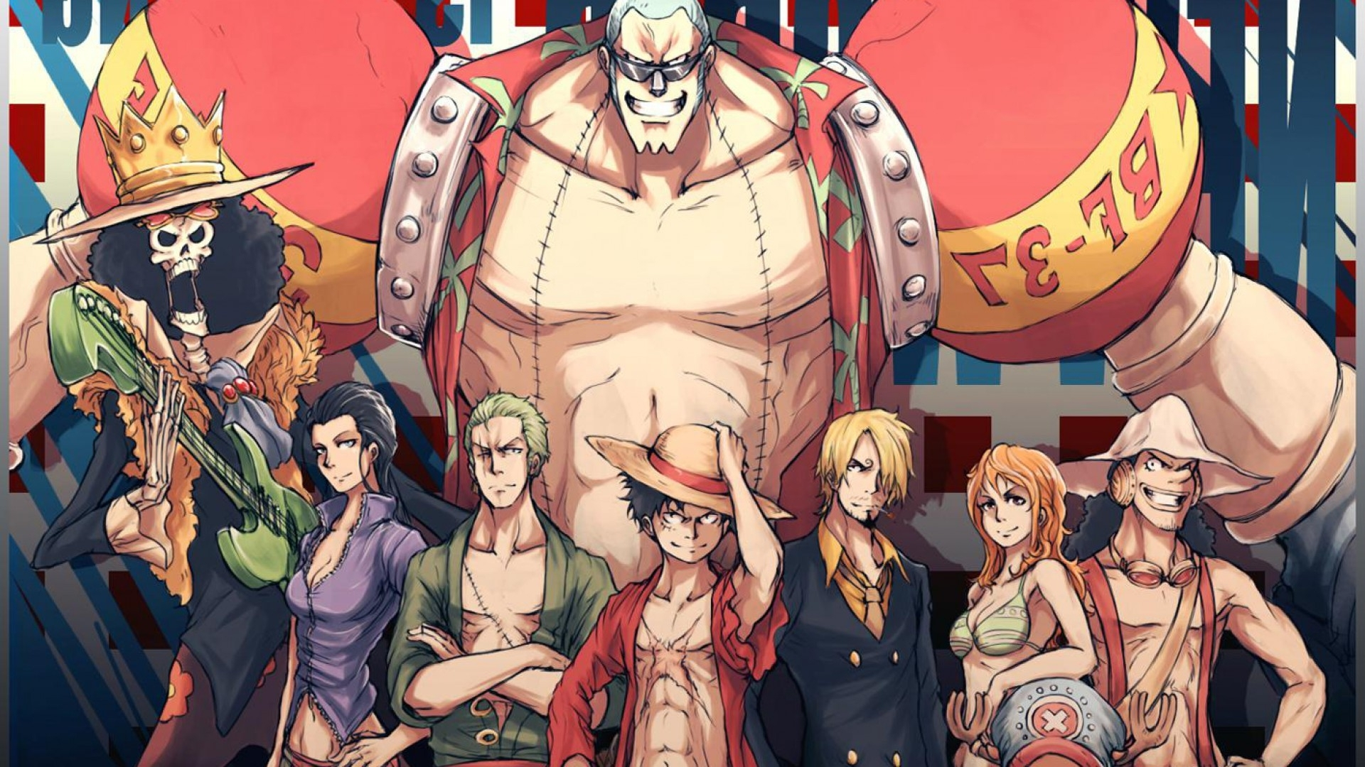 10 Top One Piece 1080P Wallpaper FULL HD 1920×1080 For PC Desktop
