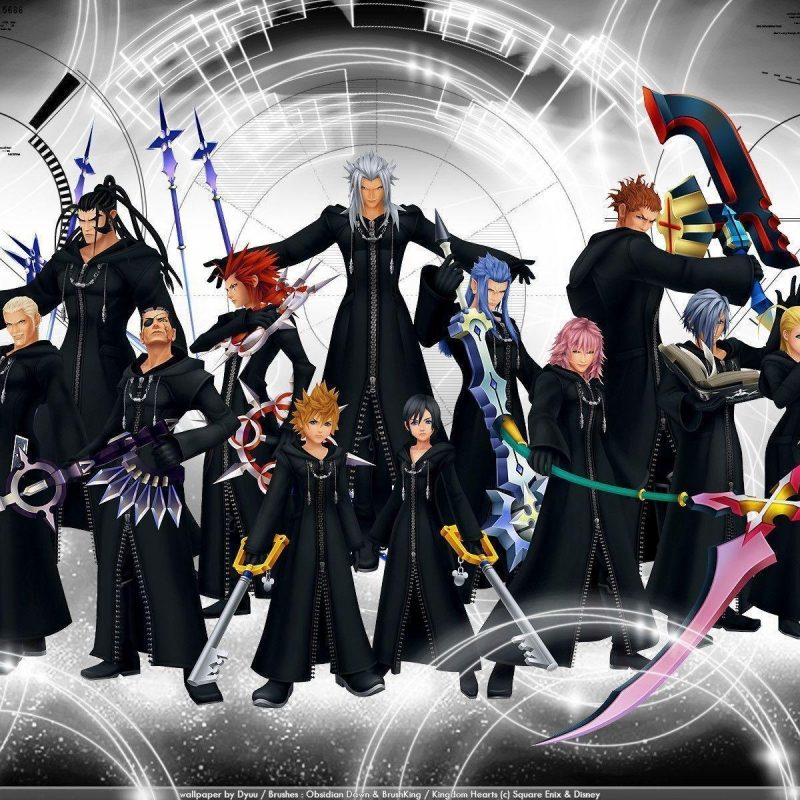 10 Top Kingdom Hearts Organization 13 Wallpaper FULL HD 1080p For PC Background 2018 free download organization 13 wallpapers wallpaper cave 800x800