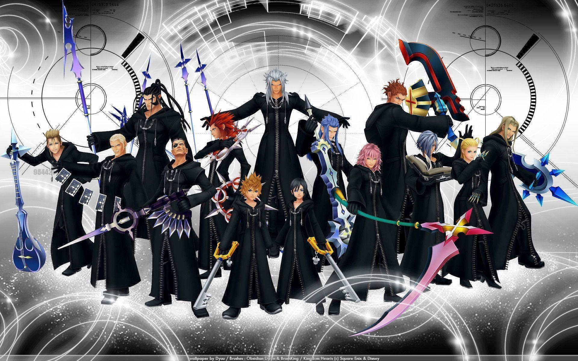 10 Top Kingdom Hearts Organization 13 Wallpaper FULL HD 1080p For PC Background