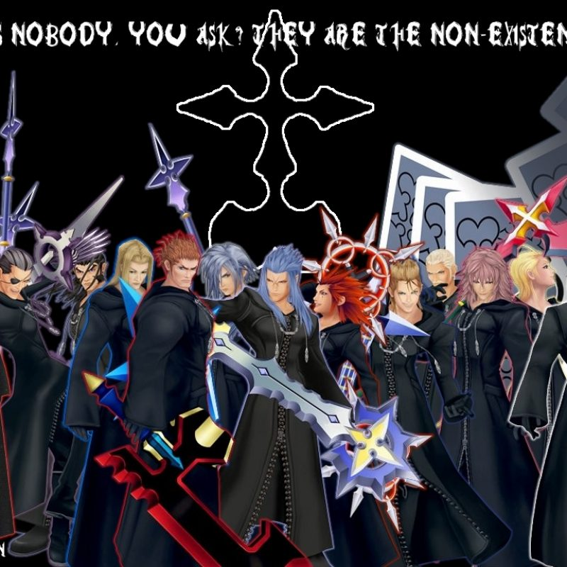 10 Top Kingdom Hearts Organization 13 Wallpaper FULL HD 1080p For PC Background 2018 free download organization xiii wallpaper 1ansem87 on deviantart 800x800