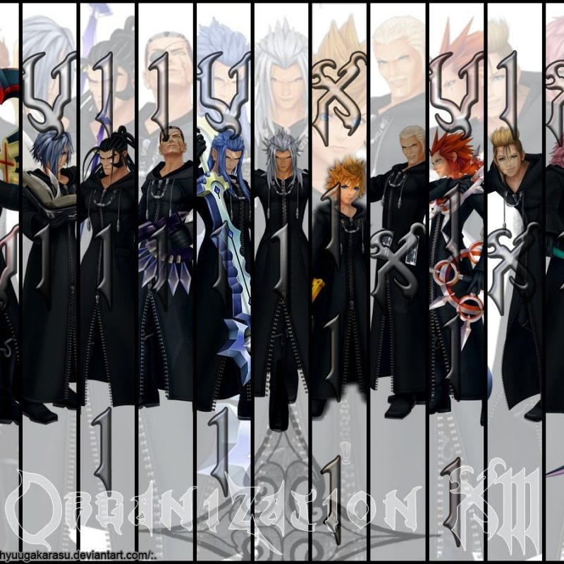 10 Top Kingdom Hearts Organization 13 Wallpaper FULL HD 1080p For PC Background 2018 free download organization xiiihyuugakarasu on deviantart 800x800