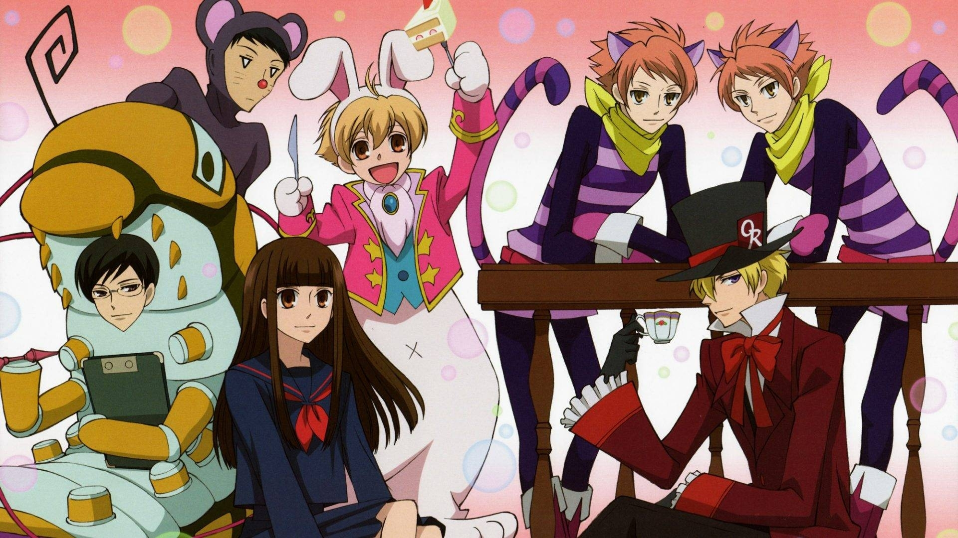 ouran high school host club wallpapers - wallpaper cave
