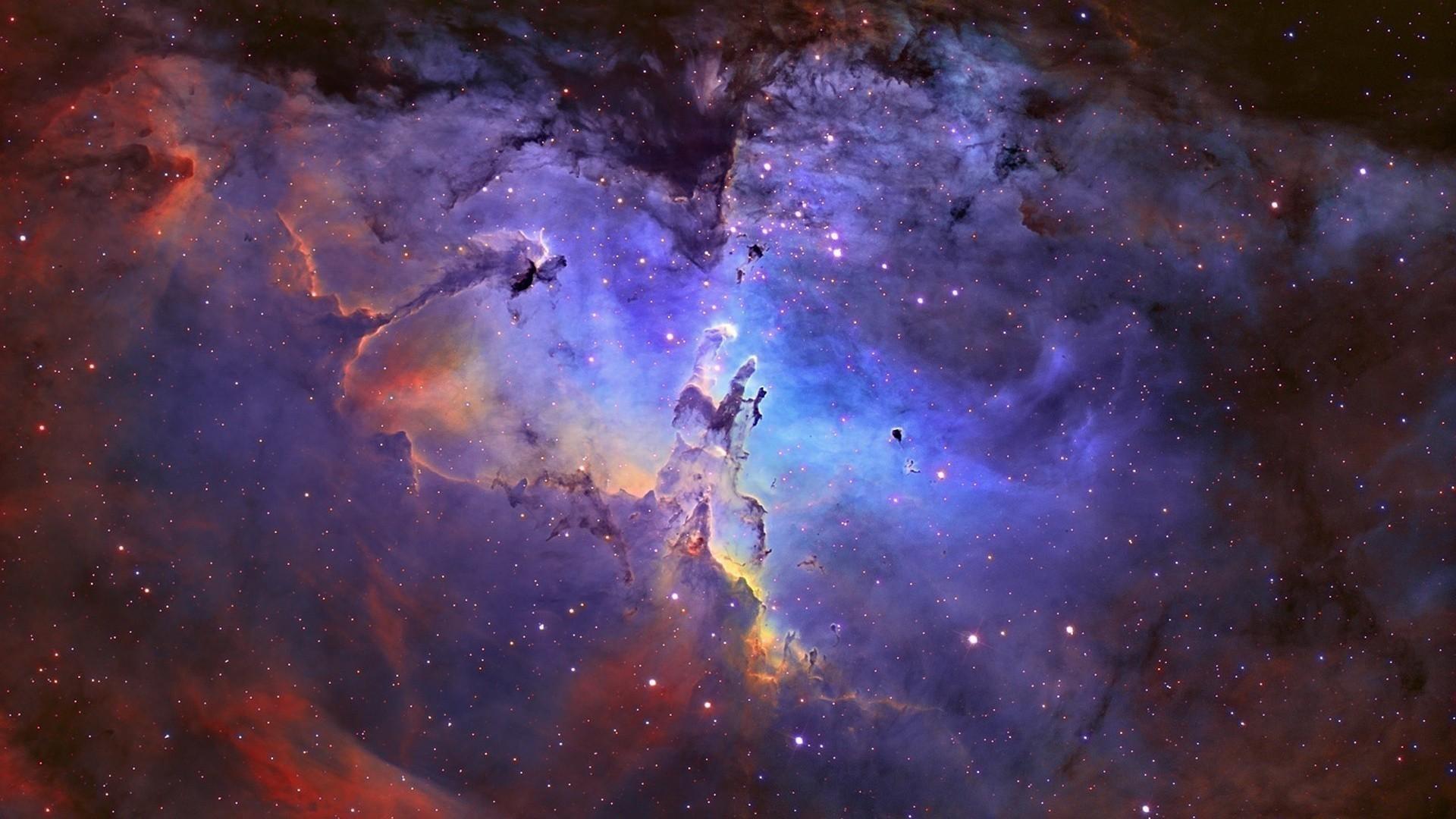 outer space eagle nebula wallpaper | (105075)