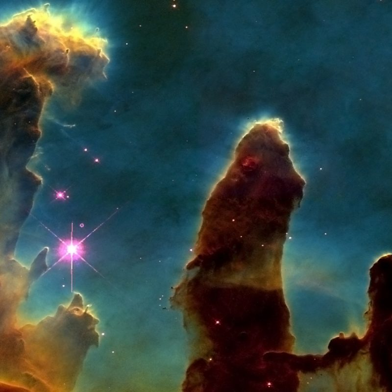 10 New The Pillars Of Creation Wallpaper FULL HD 1080p For PC Desktop 2020 free download outer space stars hubble pillars of creation eagle nebula free 800x800