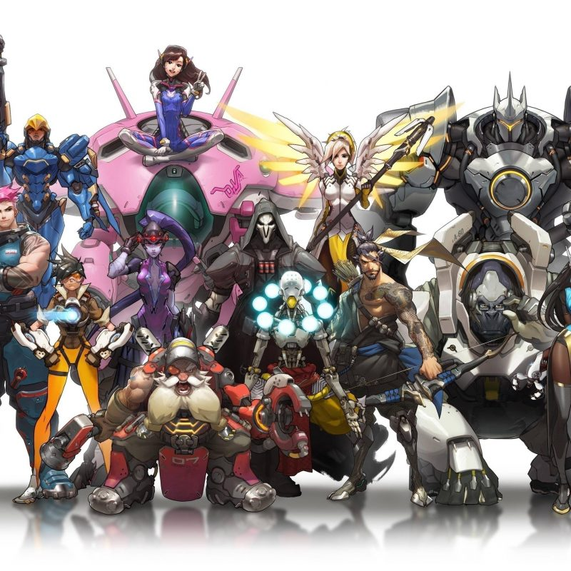 10 New Overwatch Dual Monitor Wallpaper FULL HD 1920×1080 For PC Background 2018 free download overwatch characters full hd fond decran and arriere plan 800x800