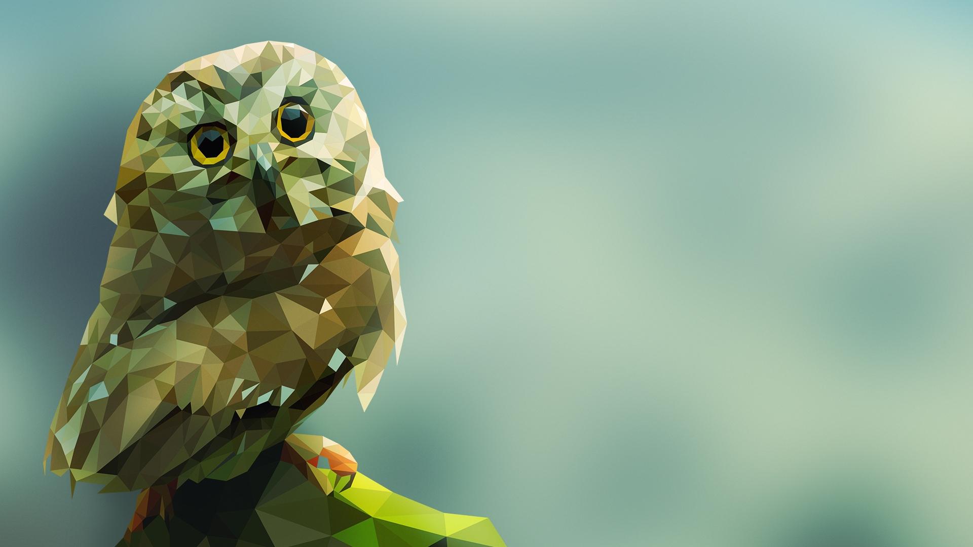 owl art wallpaper 21130 - baltana