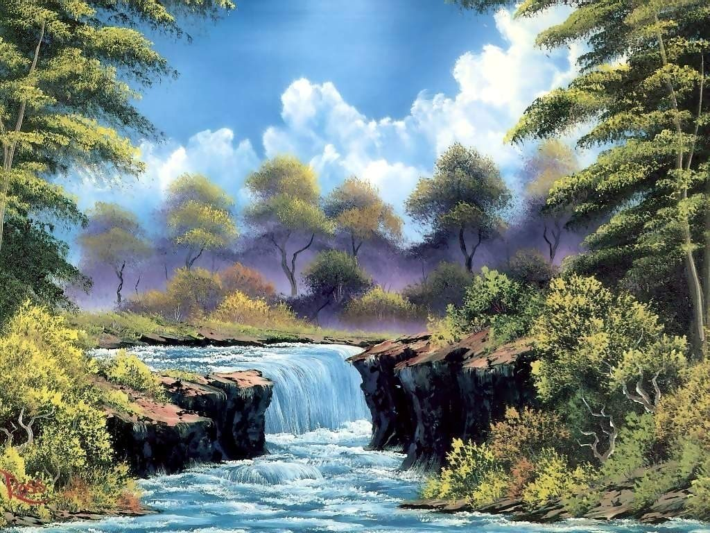 10 Most Popular Bob Ross Paintings Wallpaper FULL HD 1080p For PC Background 2018 free download paintings bob ross paintings desktop background in high 1024x768