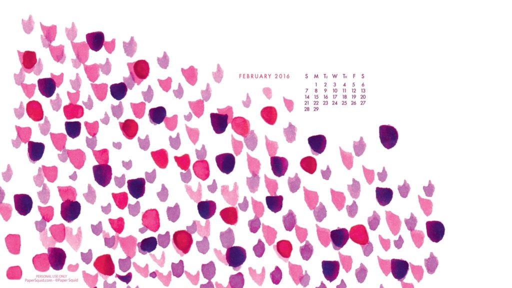 10 Latest February 2016 Calendar Wallpaper FULL HD 1920×1080 For PC Background 2018 free download paper squid e29da4 a calendar for february 1024x576