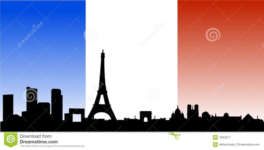 10 Top Pictures Of Paris France Flag FULL HD 1080p For PC Desktop 2020 free download paris skyline with french flag stock vector illustration of 1024x583