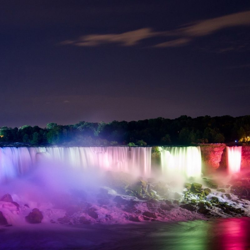 10 New Niagara Falls At Night Hd FULL HD 1080p For PC Background 2018 free download paysages legers nuit niagara falls couleurs de cascades papier peint 800x800