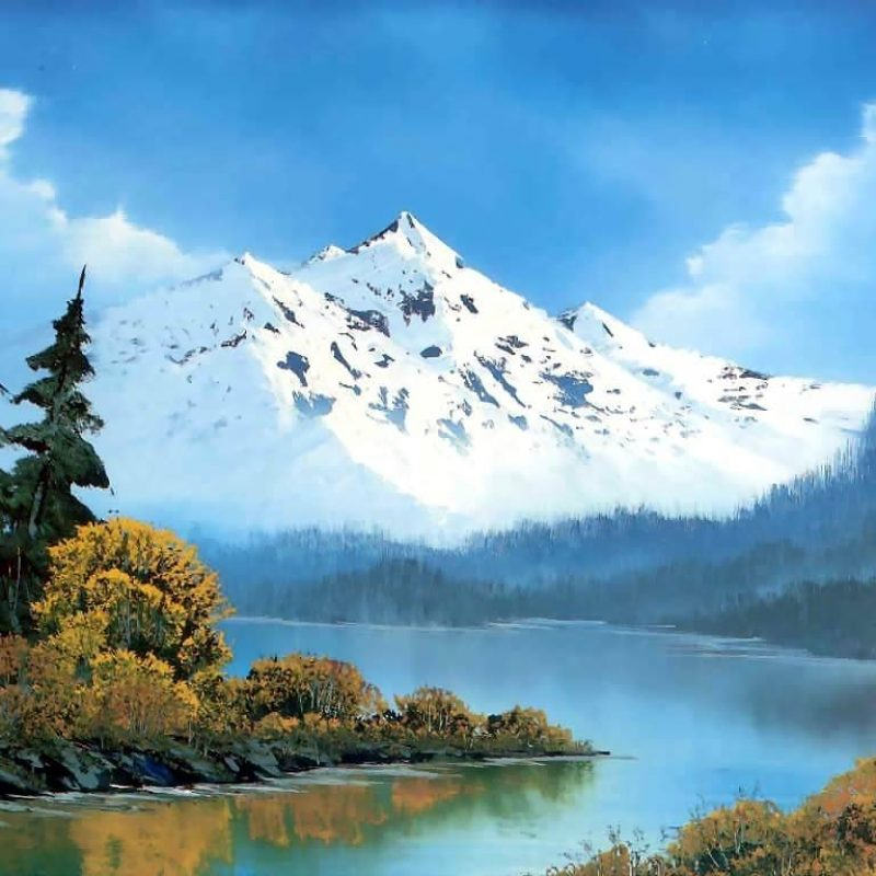 10 Top Bob Ross Desktop Wallpaper FULL HD 1080p For PC Background 2018 free download peaceful watersbob ross history analysis facts 800x800