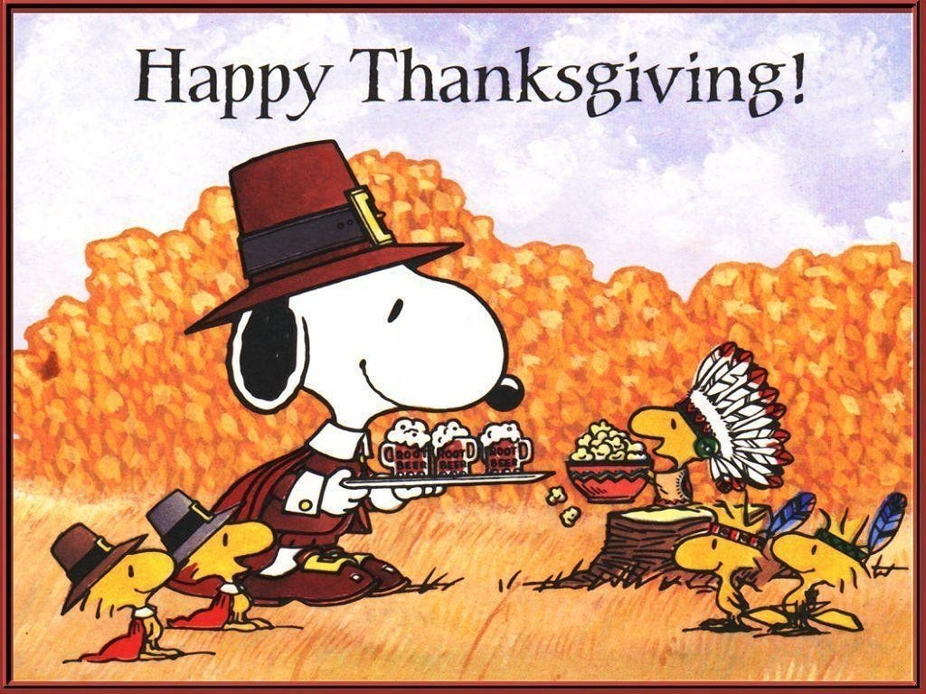peanuts thanksgiving wallpapers - wallpaper cave