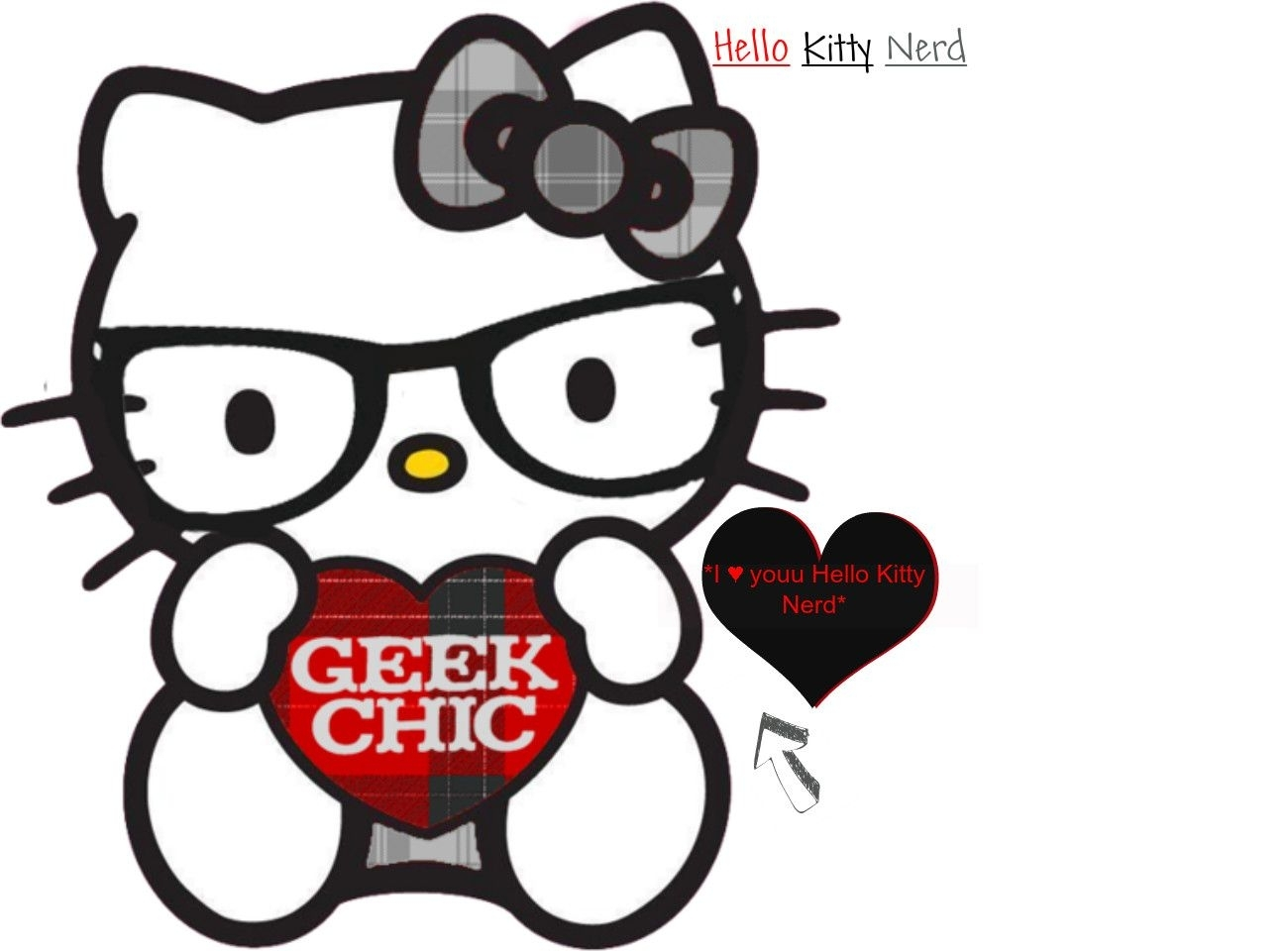 10 New Hello Kitty Nerd Wallpaper FULL HD 1920×1080 For PC Desktop