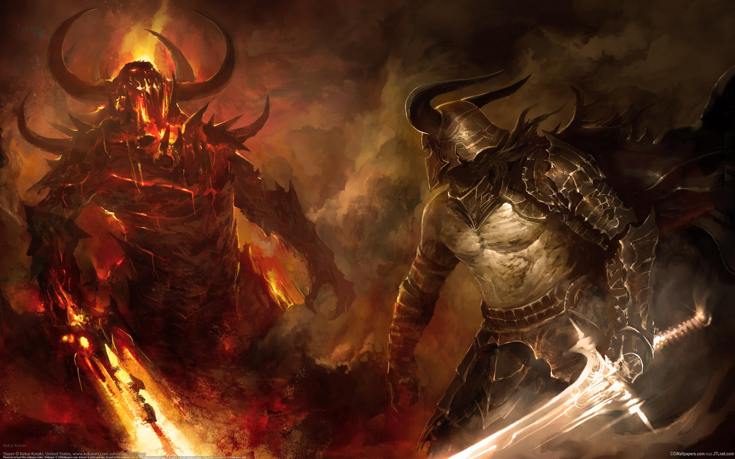 picture of good fighting evil | hd good vs evil warrior version