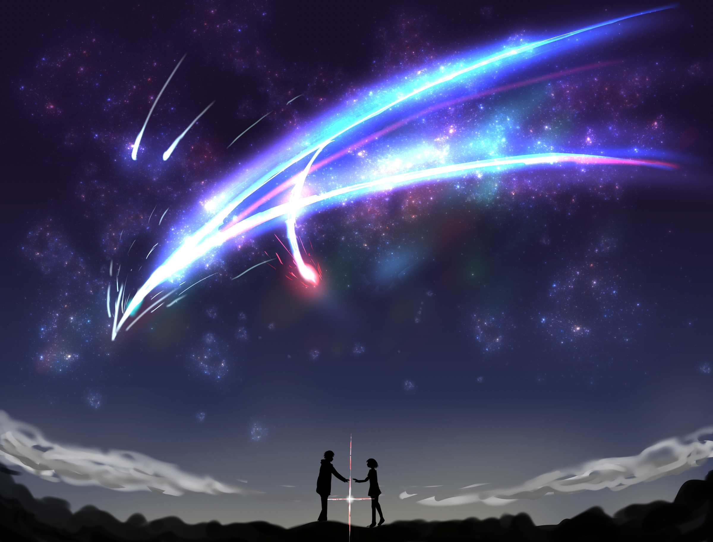 pin藤花 on 星空 | pinterest | wallpaper, anime and free