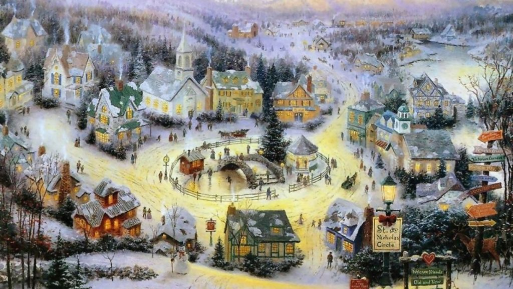 10 New Thomas Kinkade Christmas Wallpaper Hd FULL HD 1920×1080 For PC Desktop 2020 free download pinhelena ernstova on thomas kinkade pinterest background 1024x576