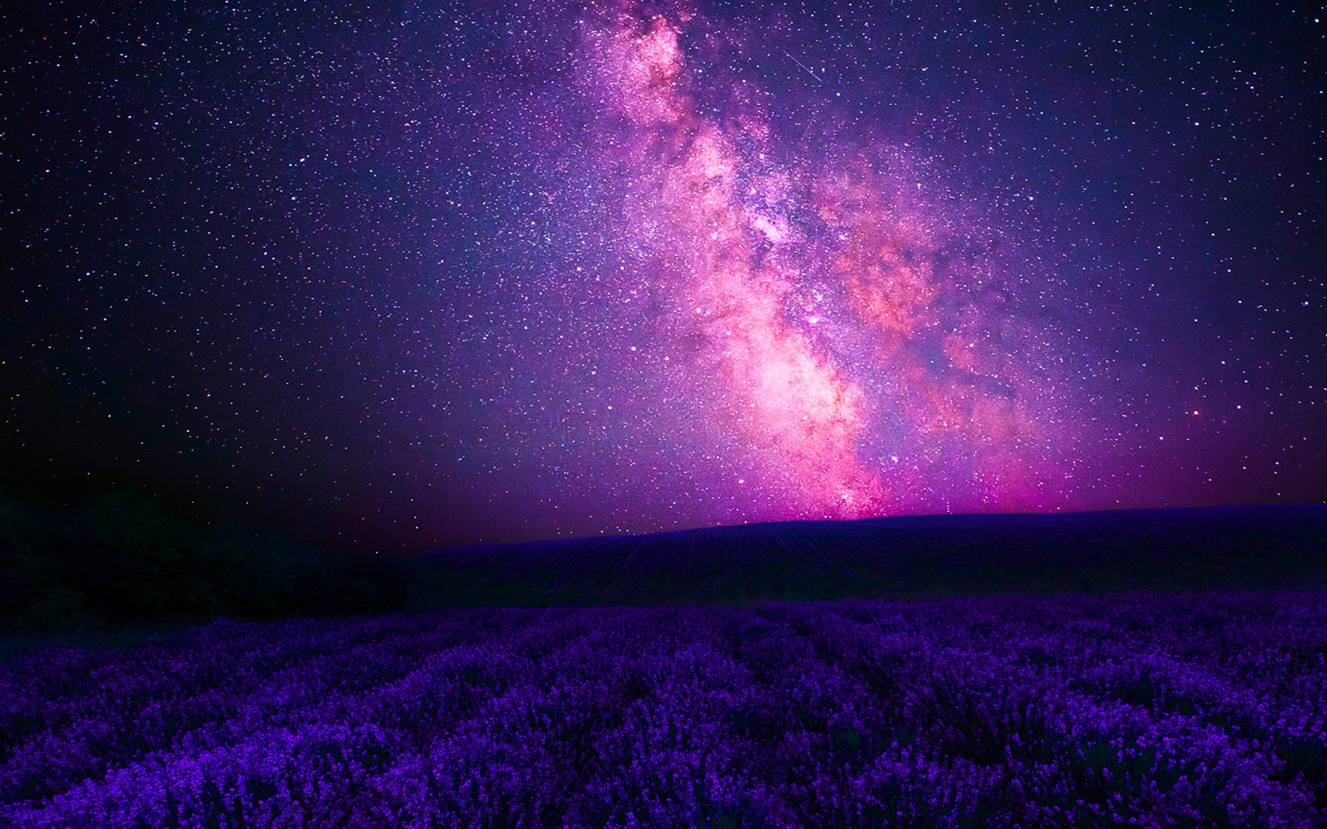 pink galaxy & purple lavender wallpapers | pink galaxy & purple