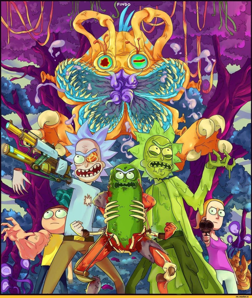 10 Best Trippy Rick And Morty Wallpaper FULL HD 1080p For PC Desktop 2020 free download pinsanitys eradication on bad ass charaters pinterest 866x1024