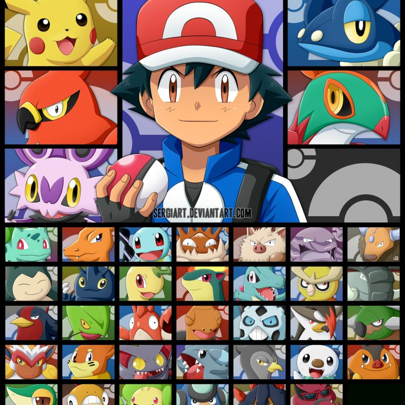 10 New Ash's Pokemon Group Photo FULL HD 1920×1080 For PC Desktop 2018 free download pinyalimed nanasi on ash and pikachu pinterest pokemon 800x800