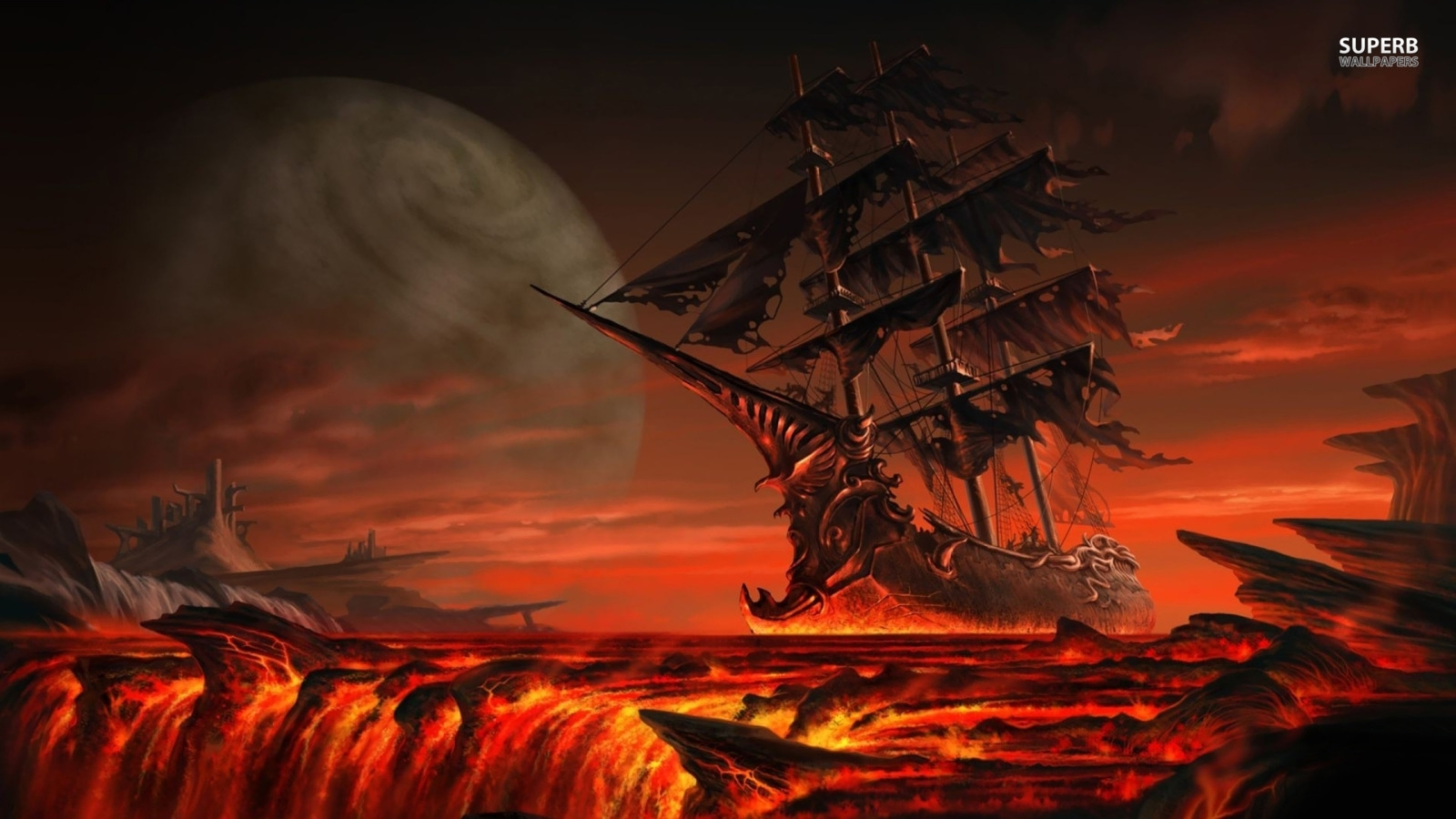 pirates images ghost ship hd wallpaper and background photos (38709405)