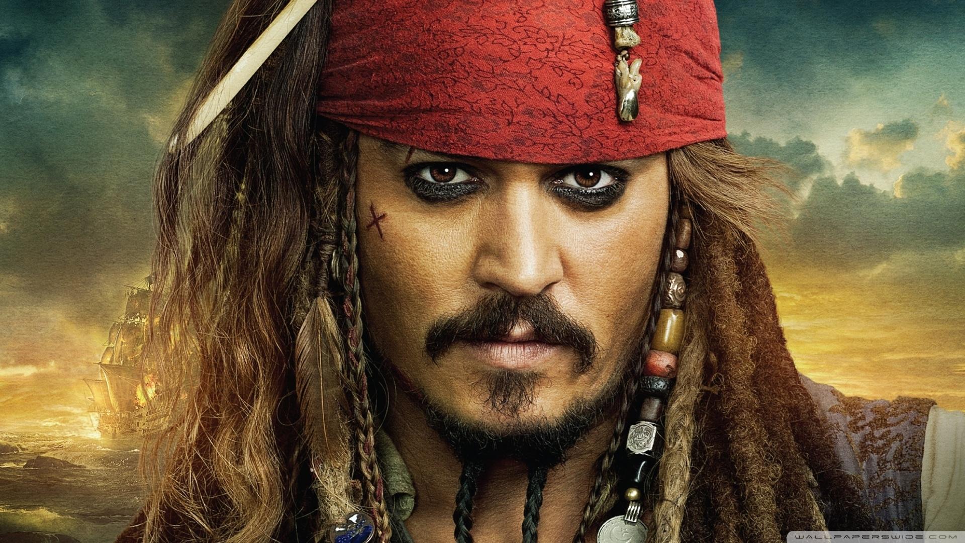 pirates of the caribbean on stranger tides - jack sparrow ❤ 4k hd