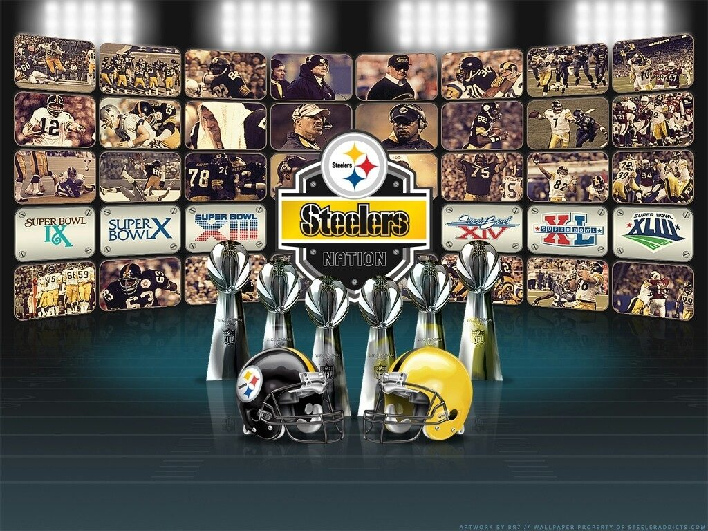 10 New Pittsburgh Steelers Screen Savers FULL HD 1080p For PC Desktop 2018 free download pittsburgh steelers 6 time champs media collage super bowl 1024x768