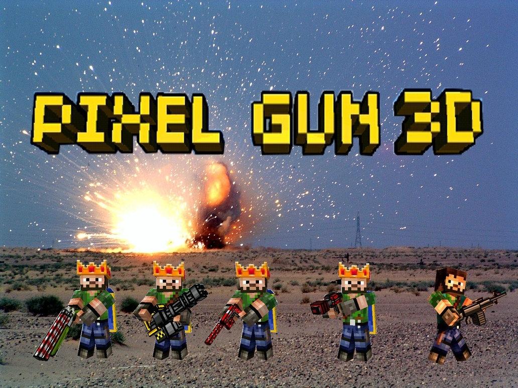 pixel gun 3d wallpaperherakles1999 on deviantart