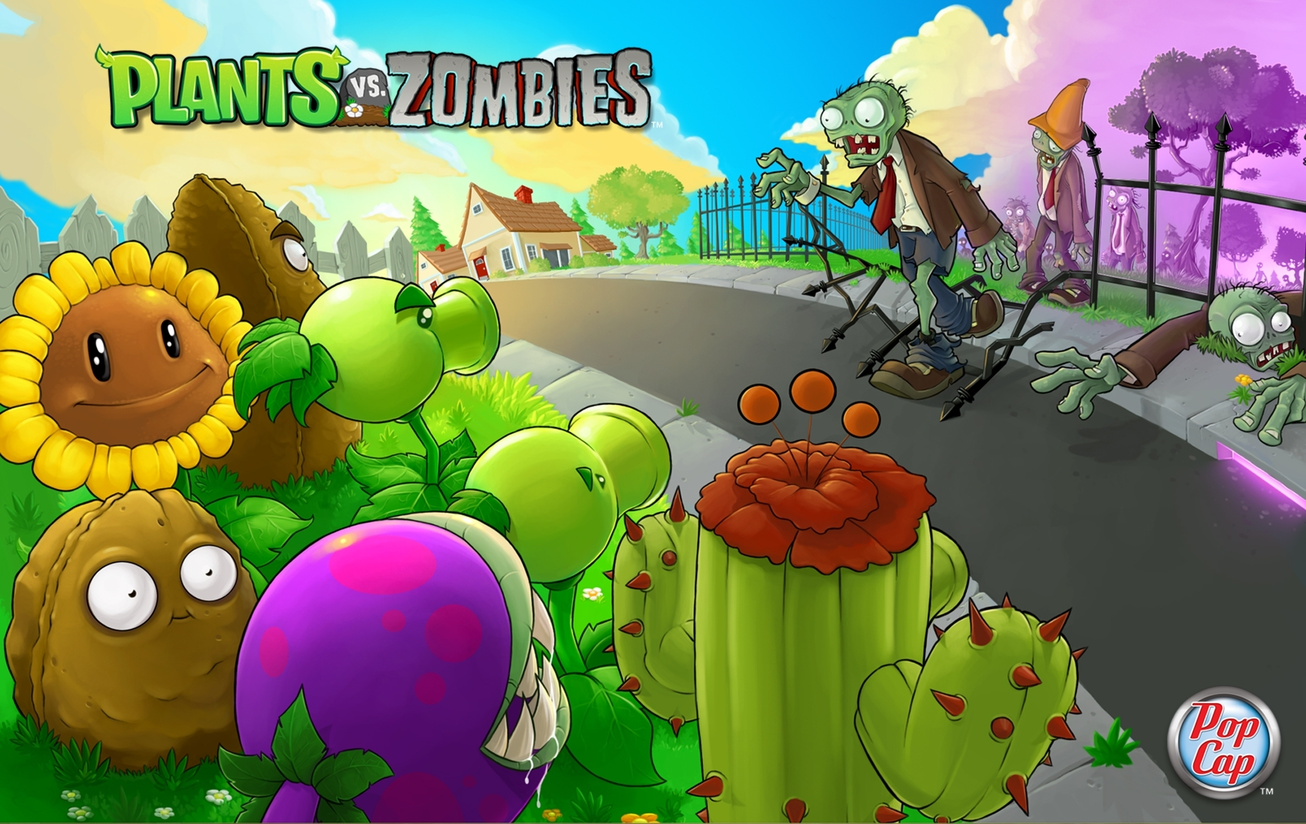 plants vs. zombies images plants vs zombies wallpaper hd wallpaper