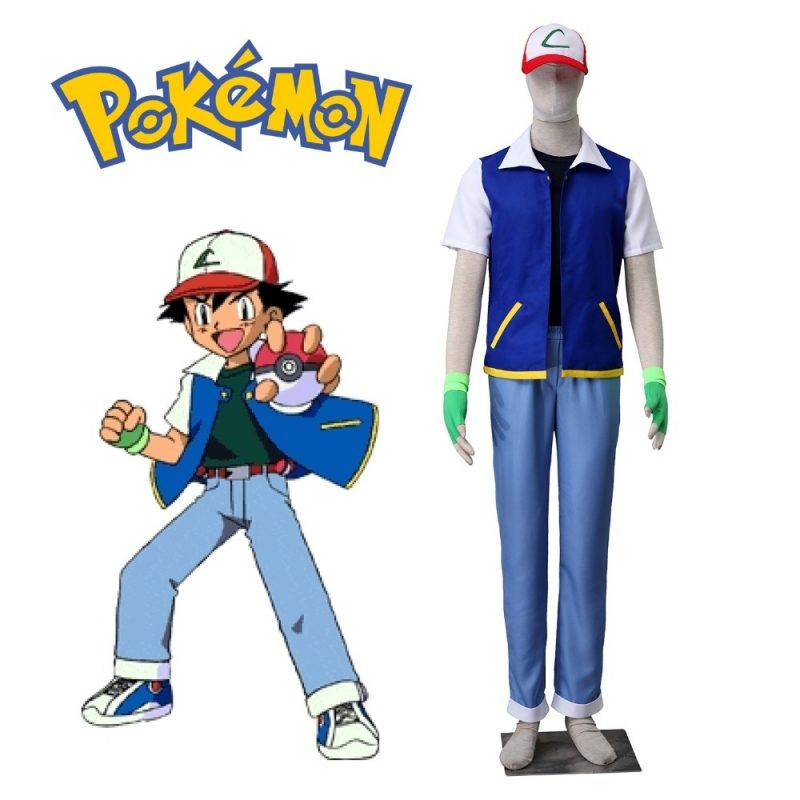 10 Top Pictures Of Ash From Pokemon FULL HD 1080p For PC Background 2018 free download pokemon ash ketchum cosplay costume short sleeve jacket black t 800x800