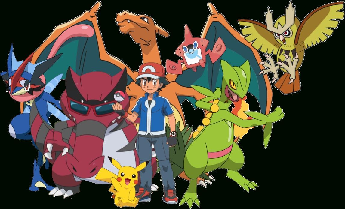 pokemon - ash perfect teamdavidbksandrade on deviantart