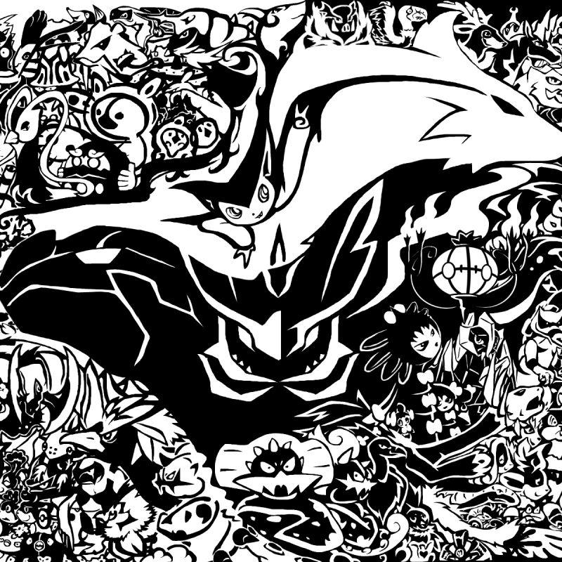 10 Most Popular Pokemon Black And White Wallpaper FULL HD 1920×1080 For PC Desktop 2018 free download pokemon black and white background wallpaper wiki 800x800