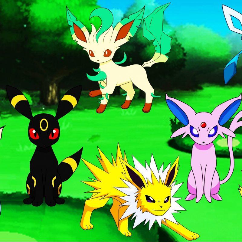 10 Most Popular Pokemon Eevee Evolution Pictures FULL HD 1080p For PC Desktop 2018 free download pokemon eevee evolutions eeveeloution umbreon jolteon vaporeon 800x800