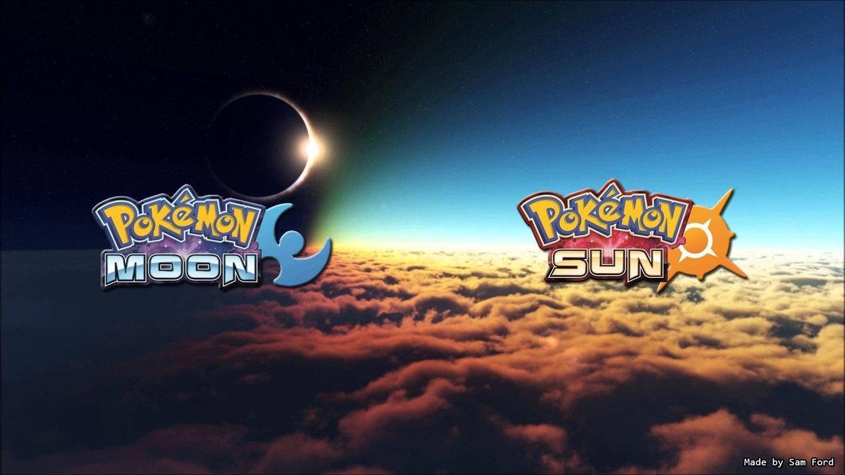 pokemon moon and sun desktop wallpaper (sam ford)sam15041999 on