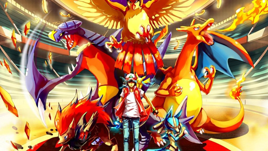10 Latest Pokemon Trainer Red Wallpaper Hd FULL HD 1080p For PC Desktop 2018 free download pokemon red wallpapers wallpaper cave 1024x576