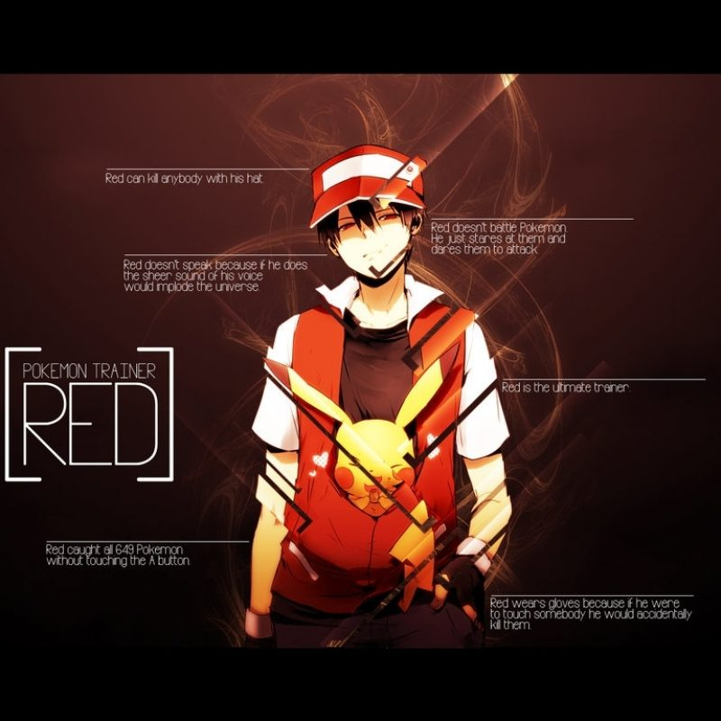 10 Best Pokemon Master Red Wallpaper FULL HD 1920×1080 For PC Background 2018 free download pokemon trainer redbetamax777 on deviantart 800x800