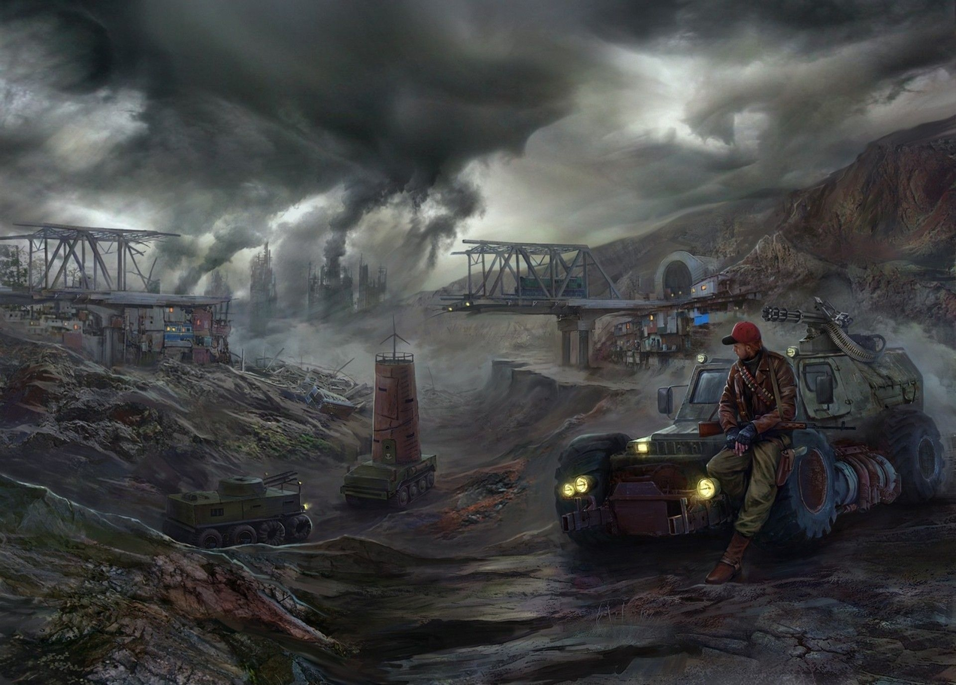 post apocalyptic wallpapers april | 3d wallpapers | pinterest | post