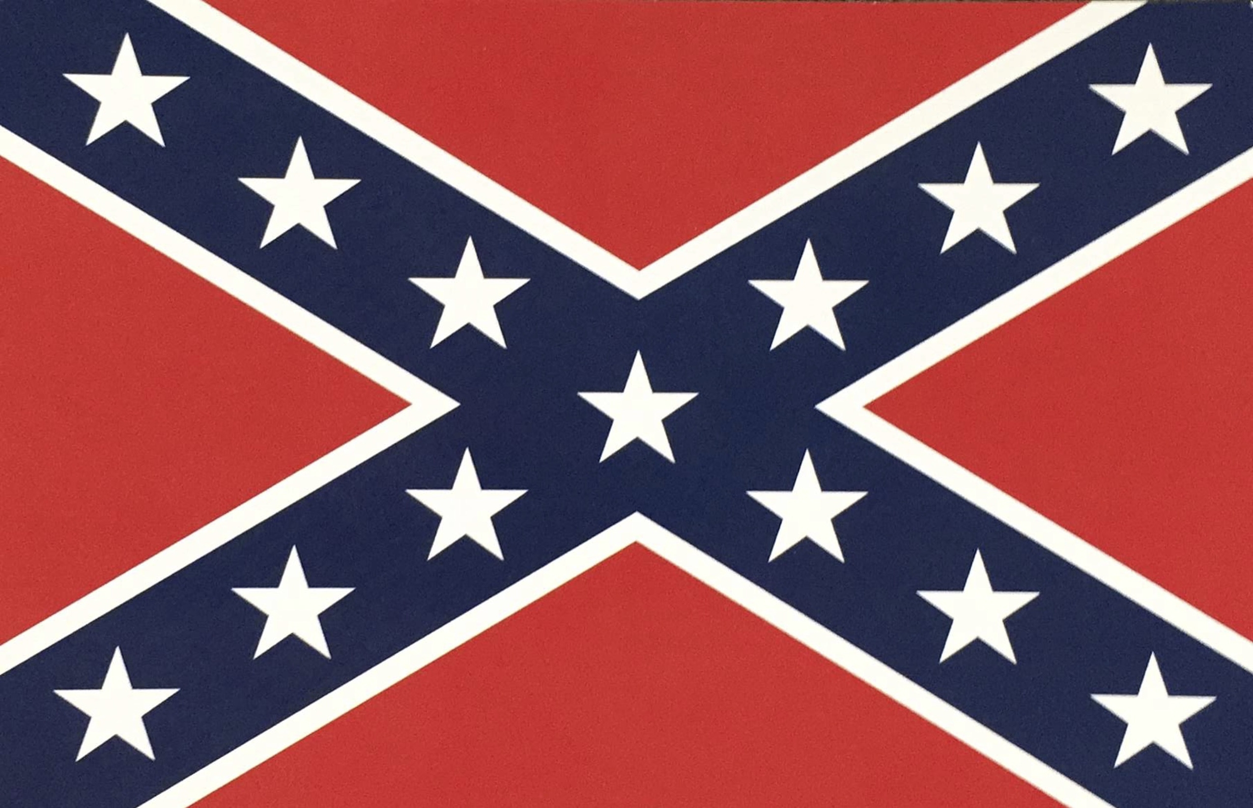 postcard confederate flag - cooters