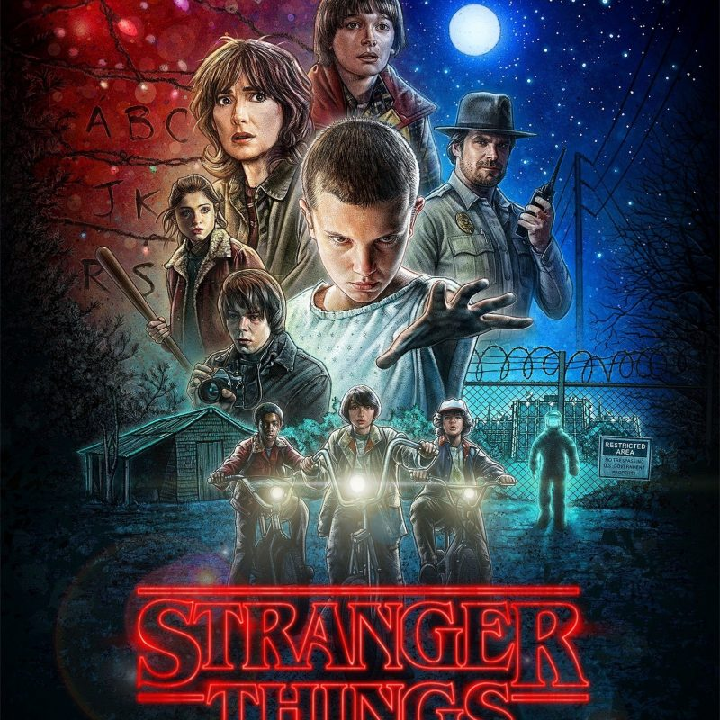 10 Latest Stranger Things Poster Hd FULL HD 1920×1080 For PC Background 2018 free download poster stranger things saison 1 old school 800x800