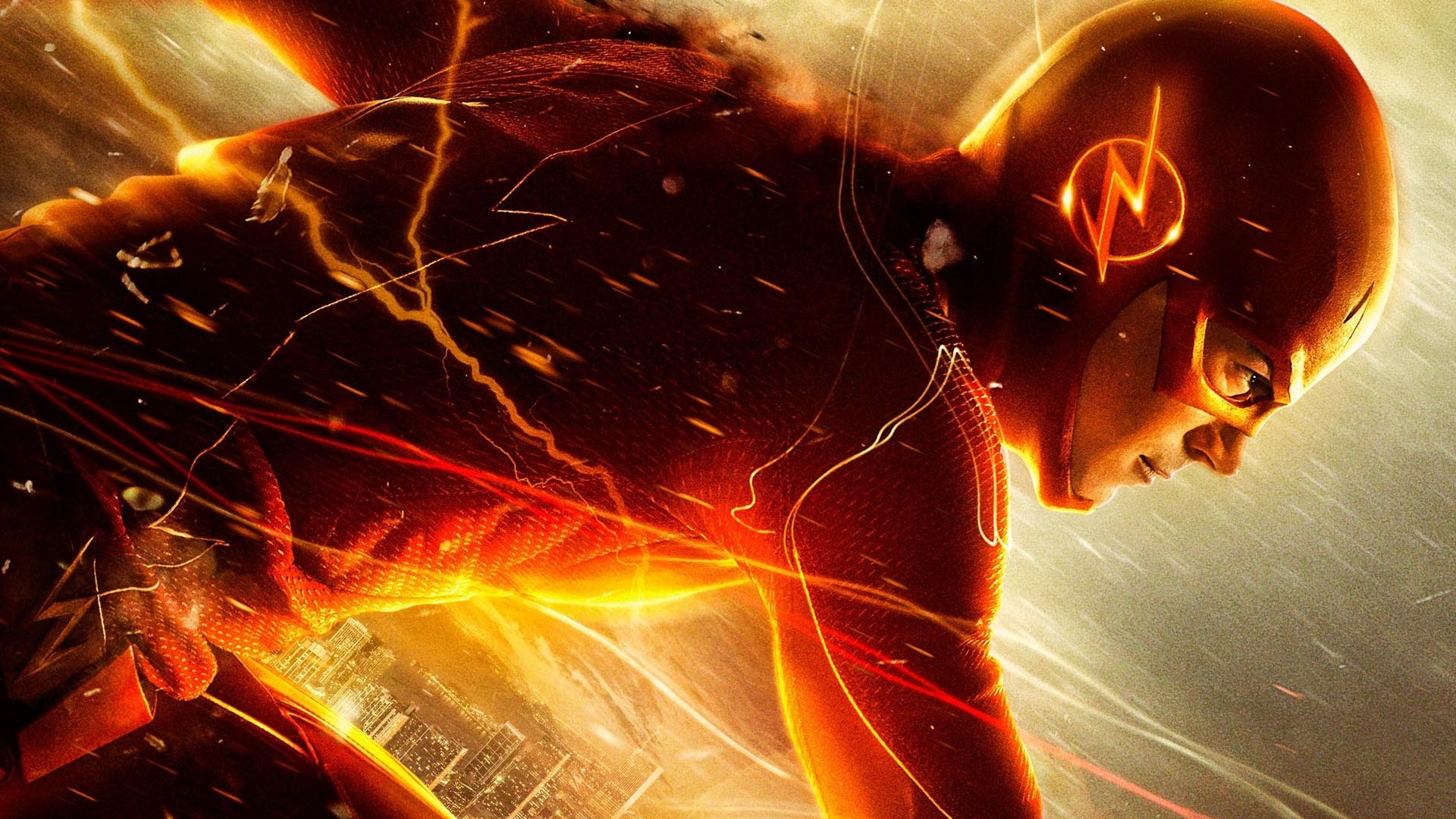 10 Latest The Flash Hd Wallpaper FULL HD 1920×1080 For PC Desktop