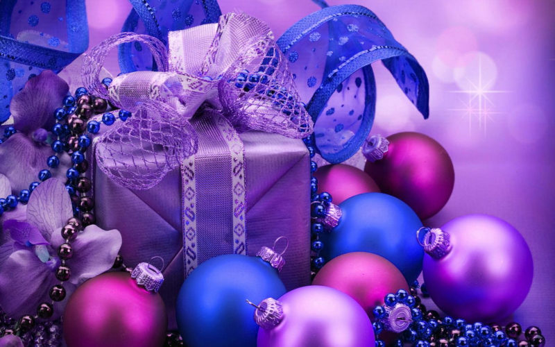 10 Best Purple Christmas Wallpaper Desktop FULL HD 1920×1080 For PC Background 2018 free download purple and blue christmas hd wallpaper hintergrund 1920x1200 800x500